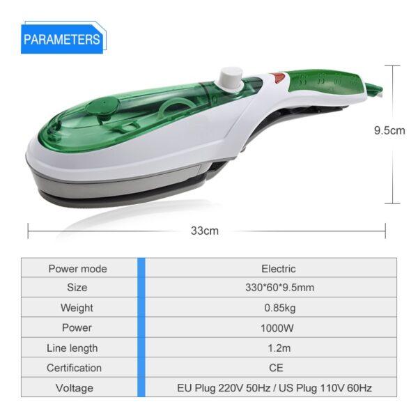 ANIMORE Handheld Garment Steamer Brush Portable Steam Iron For Clothes Generator Ironing Steamer For Underwear Steamer 7