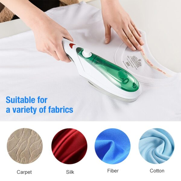 ANIMORE Handheld Garment Steamer Brush Portable Steam Iron For Clothes Generator Ironing Steamer For Underwear Steamer 8