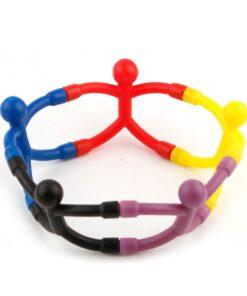 Q-Man Translucent Mini Flexible Magnets, Q-Man Translucent Mini Flexible Magnets