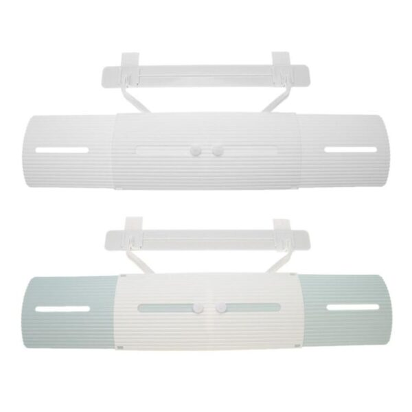 Adjustable Air Conditioner Cover Windshield Air Conditioning Baffle Shield Wind Guide Month Straight Anti wind Shield 2