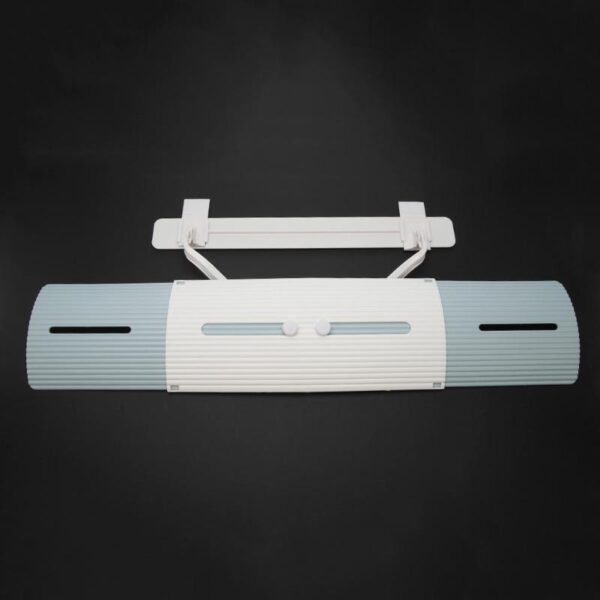 Adjustable Air Conditioner Cover Windshield Air Conditioning Baffle Shield Wind Guide Month Straight Anti wind Shield 4
