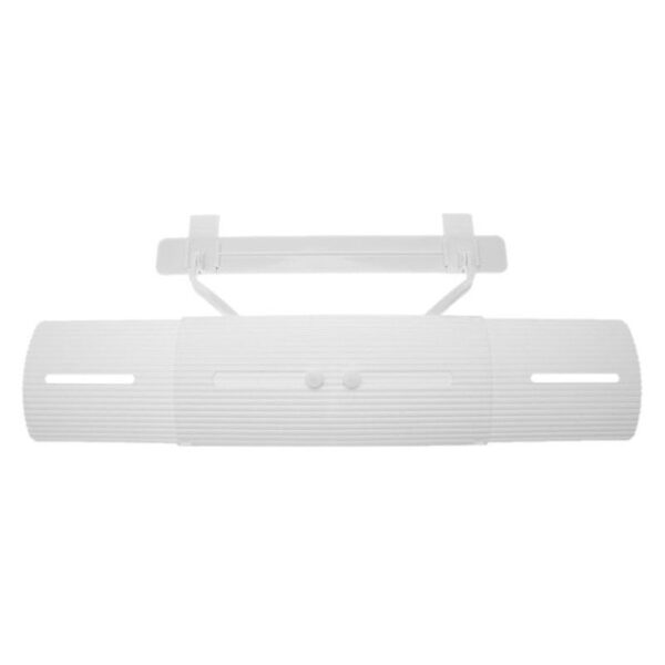 Adjustable Air Conditioner Cover Windshield Air Conditioning Baffle Shield Wind Guide Month Straight Anti wind