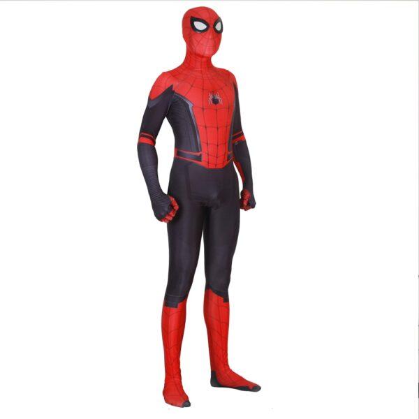 Adult Kids Spider Man Far From Home Peter Parker Cosplay Costume Zentai Spiderman Superhero Bodysuit Suit 1