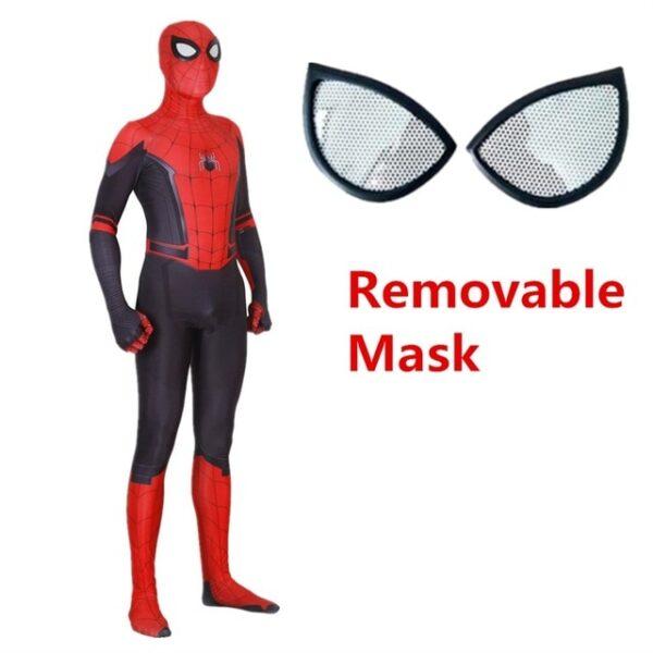 Adult Kids Spider Man Far From Home Peter Parker Cosplay Costume Zentai Spiderman Superhero Bodysuit Suit 1.jpg 640x640 1