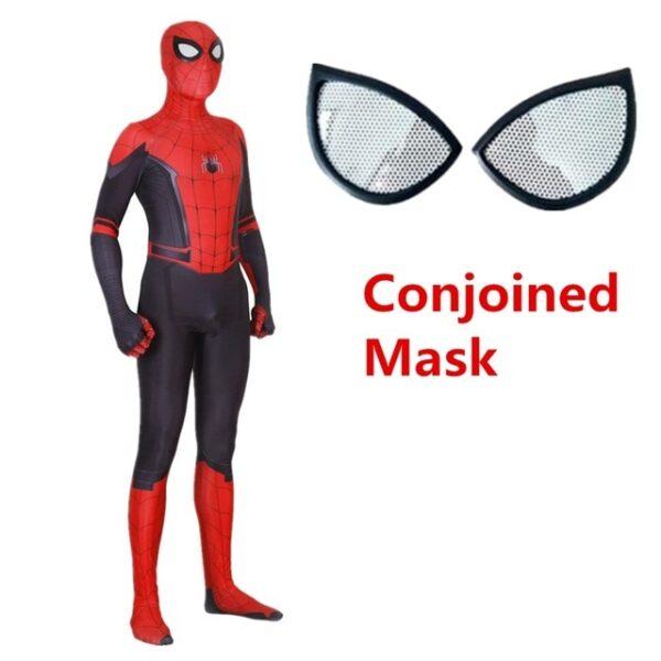 Adult Kids Spider Man Far From Home Peter Parker Cosplay Costume Zentai Spiderman Superhero Bodysuit Suit 3.jpg 640x640 3