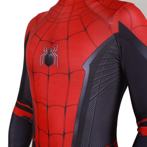 Adult Kids Spider Man Far From Home Peter Parker Cosplay Costume Zentai Spiderman Superhero Bodysuit Suit 5