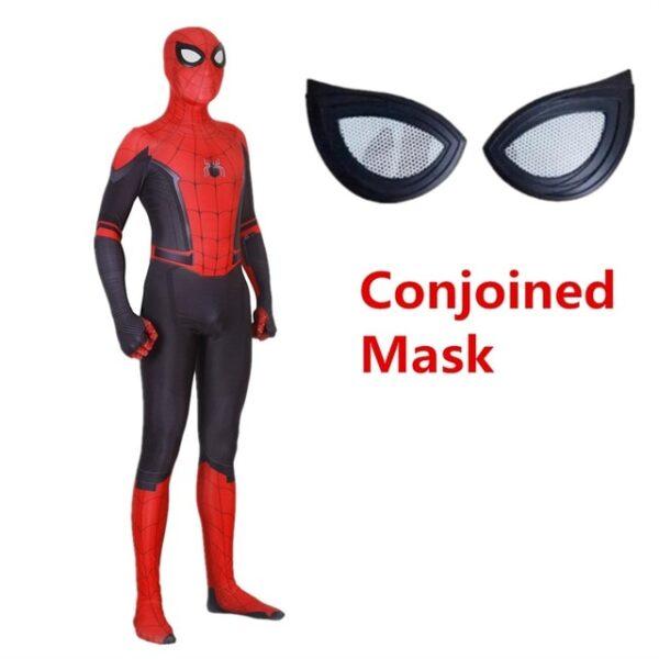 Adult Kids Spider Man Far From Home Peter Parker Cosplay Costume Zentai Spiderman Superhero Bodysuit