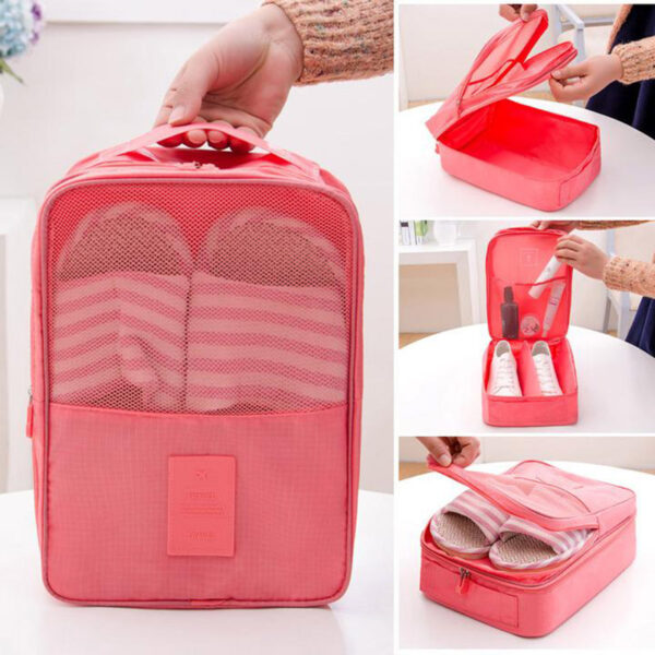 Creative Multi function Large Nylon 6 Colors Portable Travel Organizer Storage Bag for Shoes Toiletries 5d4adc9f f1ca 4b37 97c0