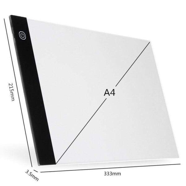 Digital Graphic Tablet A4 LED Artist Thin Art Stencil Drawing Board Light Box Tracing Writing Portable a05f5c24 730e 427b b924
