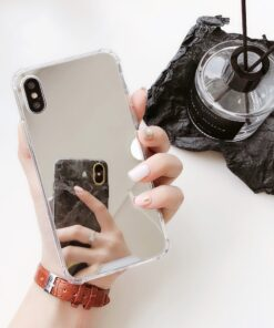 Luxury Mirror Glass Phone Case For Iphone, Luxury Mirror Glass Phone Case for iPhone