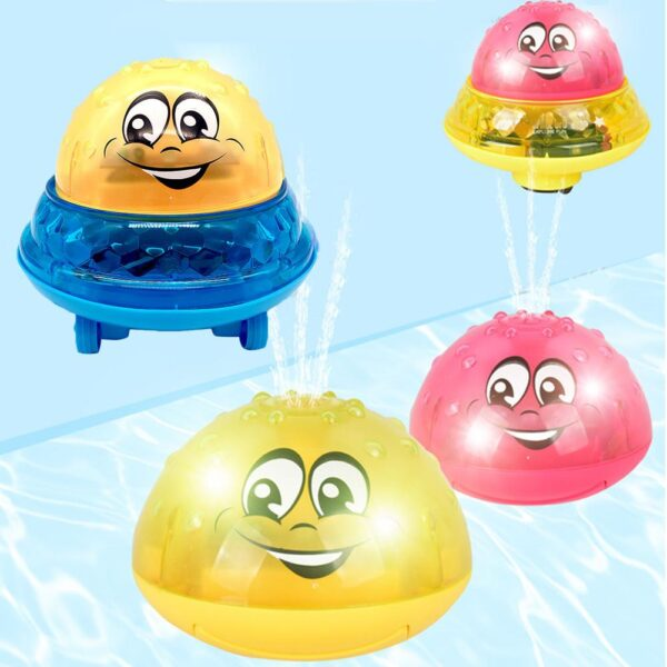 Funny Infant Children s Electric Induction Sprinkler Toy Light Baby Play Bath Toy Water Toys