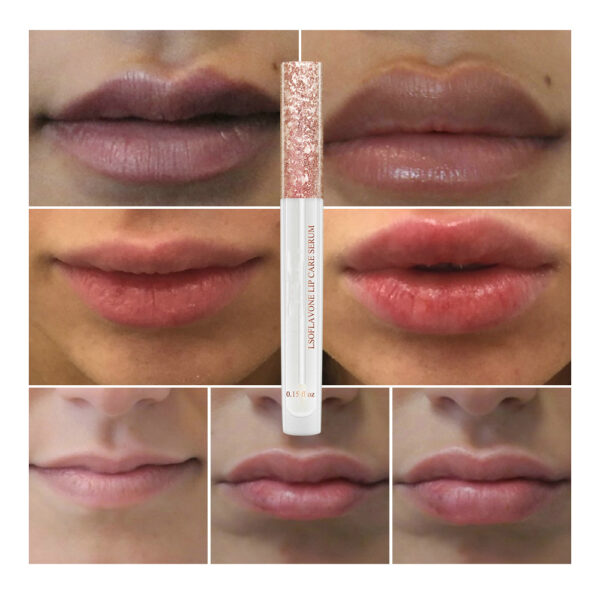 LANBENA Lip Care Serum Moisturizing Repairing Plumper Lip Mask Enhance Lip Elasticity Reduce Fine Lines Resist 3 1