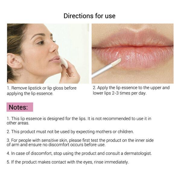 LANBENA Lip Care Serum Moisturizing Repairing Plumper Lip Mask Enhance Lip Elasticity Reduce Fine Lines Resist 4 1