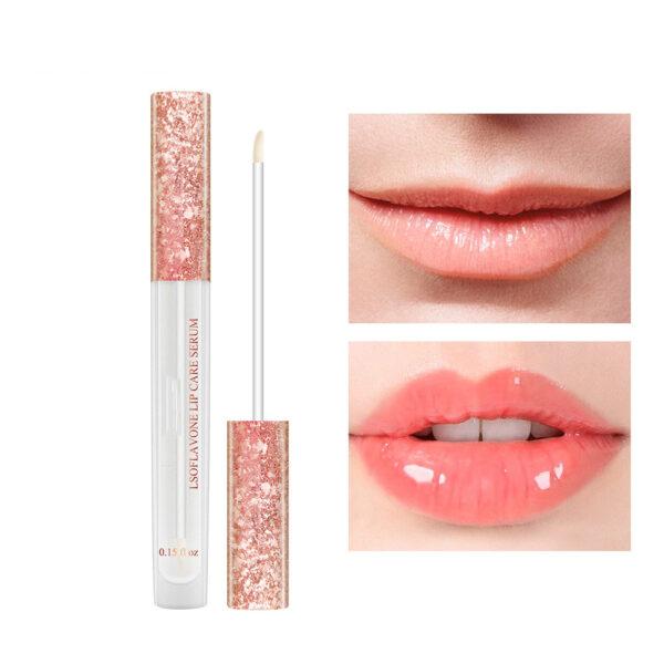 LANBENA Lip Care Serum Moisturizing Repairing Plumper Lip Mask Enhance Lip Elasticity Reduce Fine Lines Resist 6