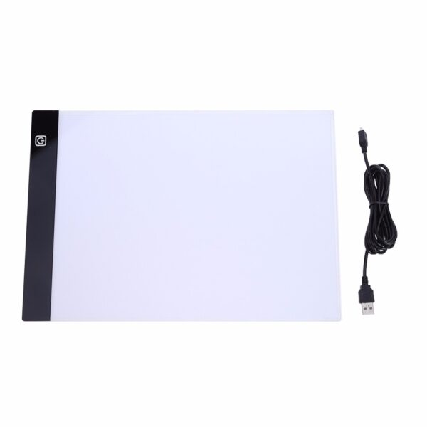 LED Graphic Tablet Writing Painting Light Box Tracing Board Copy Pads Digital Drawing Tablet Artcraft A4 1