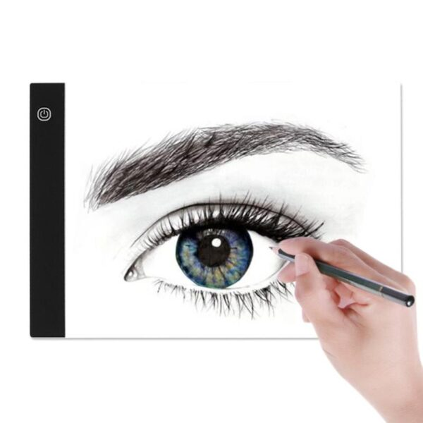 LED Graphic Tablet Writing Painting Light Box Tracing Board Copy Pads Digital Drawing Tablet Artcraft A4 4