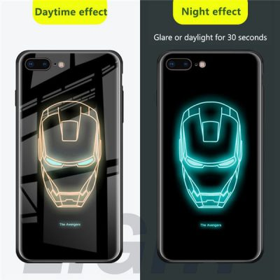 Superhero Induction Light Phone Case, Superhero Induction Light Phone Case
