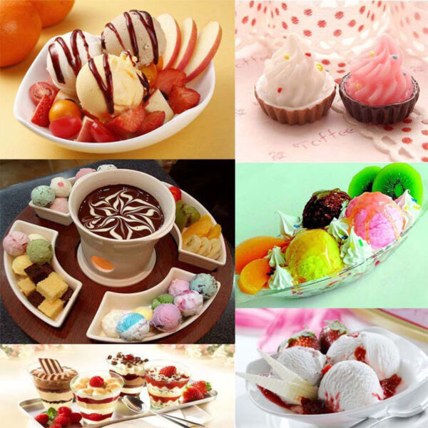 New Electric Automatic Fruit Ice Cream Maker Household Appliances Kitchen Tools Children DIY Ice Cream Machine 5