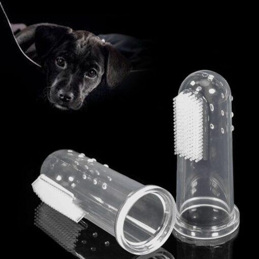 dog toothpaste, Super Soft Pet Finger Toothbrush