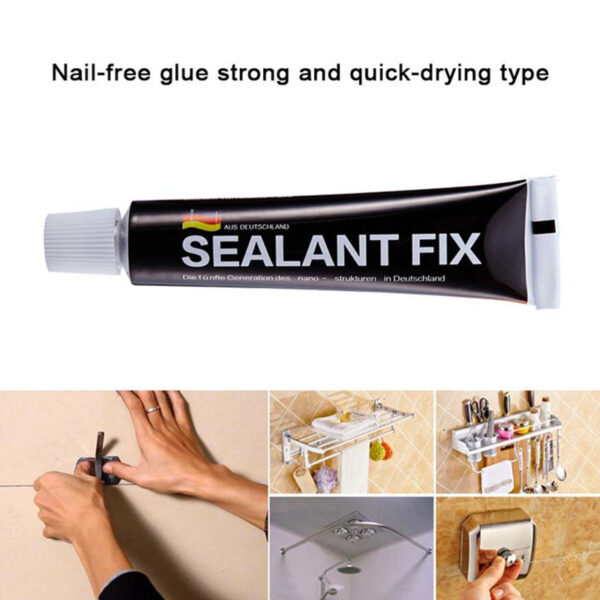 Newest Strong Glass Glue Silane Polymer Metal Adhesive SEALANT FIX for Stationery Glass Jewelry Crystal JY 720x 1