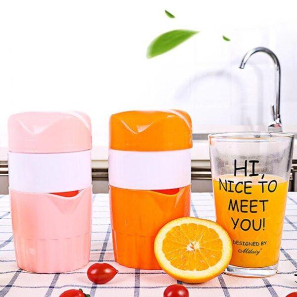 Portable Manual Citrus Juicer for Orange Lemon Fruit Squeezer 100 Original Juice Child Healthy Life Potable 2