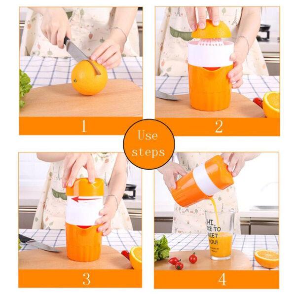 Portable Manual Citrus Juicer for Orange Lemon Fruit Squeezer 100 Original Juice Child Healthy Life Potable 4 1