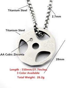 Titanium Strength Necklace, Titanium Strength Necklace