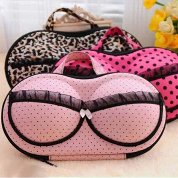 Travel Bra Organizer Protect Bra Underwear Lingerie Case Storage Travel Organizer Bag