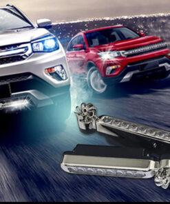 Wind-Powered LED Car Lights, Wind-Powered LED Car Lights