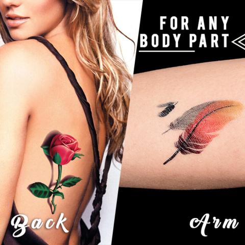 Tattoo Sticker, 3D Tattoo Sticker