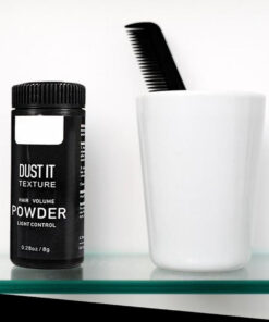 mattifying powder hair