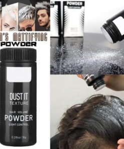 mattifying powder hair