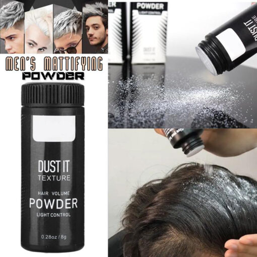 mattifying powder hair, Hair Mattifying Powder