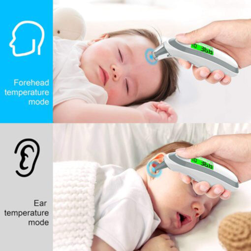 Ear and Forehead Digital Thermometer, Ear and Forehead Digital Thermometer