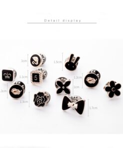 Prevent Accidental Exposure of Buttons, 10pcs Prevent Accidental Exposure of Buttons