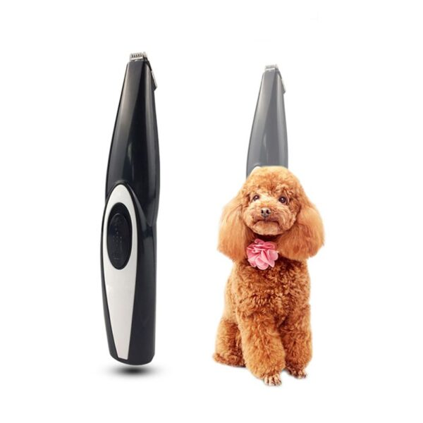 2019 New Dog Hair Trimmer USB Rechargeable Professional Pets Hair Trimmer for Dogs Cats Pet Hair 1
