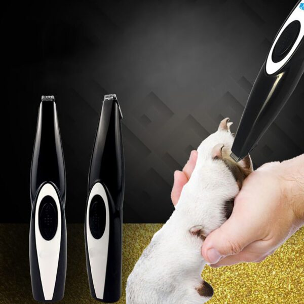 2019 New Dog Hair Trimmer USB Rechargeable Professional Pets Hair Trimmer for Dogs Cats Pet Hair