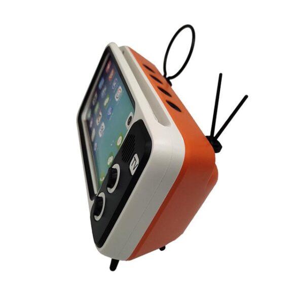 3 In 1 Wireless Peaker Retro TV Mini Portable Bluetooth Bass Speaker Mobile Phone Holder Speaker 2.jpg 640x640 2