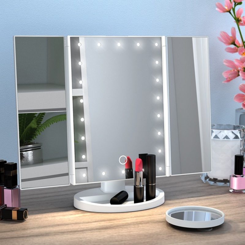 Light Mirror, Adjustable Tabletop Light Mirror