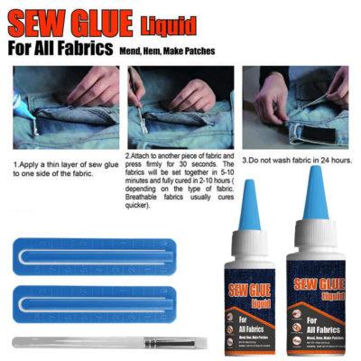 Liquid Sewing Solution Kit, Liquid Sewing Solution Kit