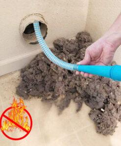 dryer vent vacuum hose