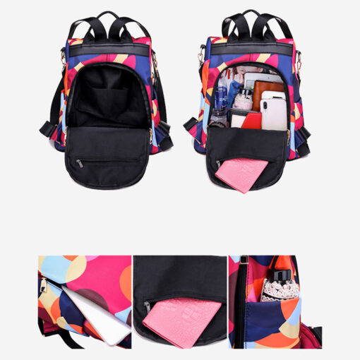 Cool Retro Multi-Functional Backpack, Cool Retro Multi-Functional Backpack