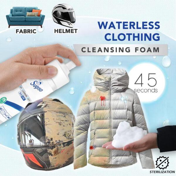 Waterless Clothing Cleansing Foam