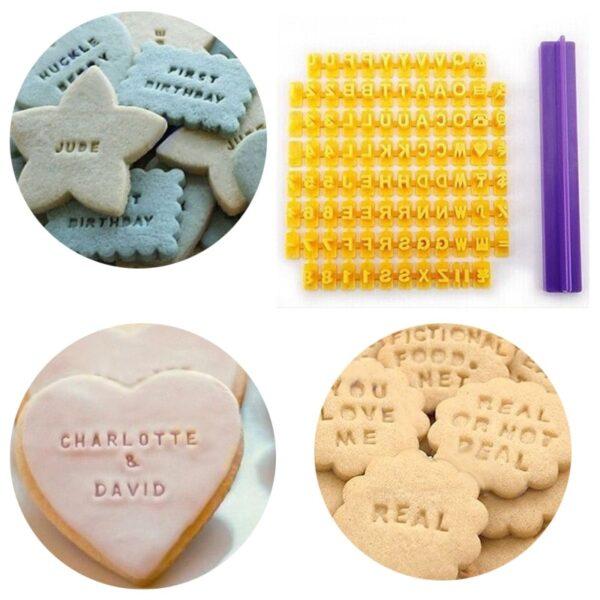 Alphabe Cookie Stamp