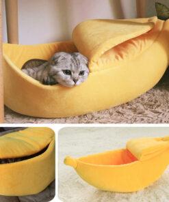 Banana Peel Pet Bed