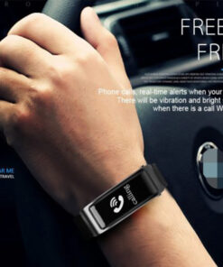 2-in-1 Smart Bracelet with Bluetooth Earphone - Not sold in