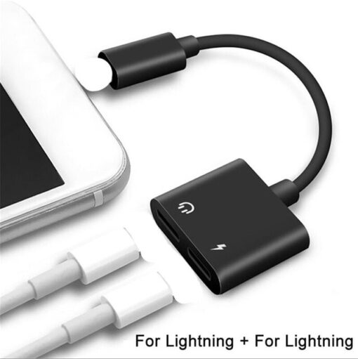 Audio Charger Adapter, iOS Audio Charger Adapter