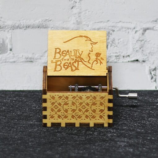 Engraved Music Box, Engraved Music Box