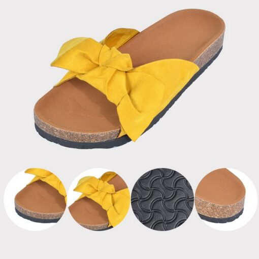 Mga Sandalyas, Butterfly Bow Slip-on Sandals
