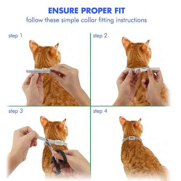 Tick Cat Collar, Anti Flea & Tick Cat Collar